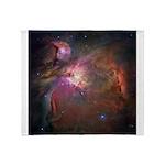 Hubble Telescope Orion Nebula Throw Blanket