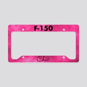 F150 Chic License Plate Holder