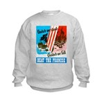 United We Stand (Front) Kids Sweatshirt