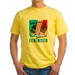 United We Stand (Front) Yellow T-Shirt
