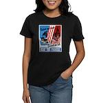 United We Stand (Front) Women's Dark T-Shirt