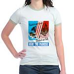 United We Stand Jr. Ringer T-Shirt