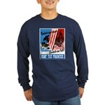 United We Stand (Front) Long Sleeve Dark T-Shirt