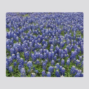 Bluebonnets Throw Blanket