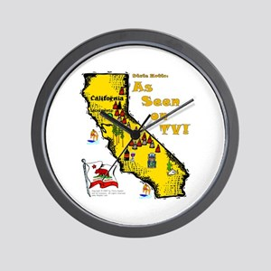 CA-As Seen! Wall Clock