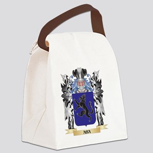 Aba Coat of Arms - Family Crest Canvas Lunch Bag