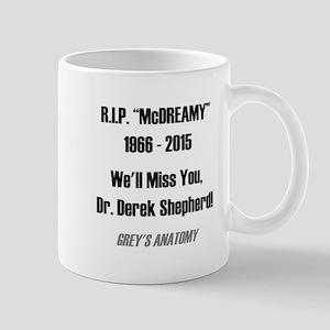 "RIP ""McDREAMY"" Mug"