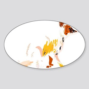 Fading fox Sticker