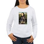 Mona's 2 Dobies Women's Long Sleeve T-Shirt