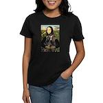 Mona's 2 Dobies Women's Dark T-Shirt