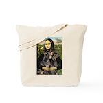 Mona's 2 Dobies Tote Bag