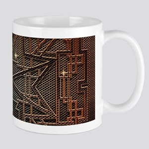 Abstract metal structure Mugs