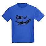 Oriental Small Clawed Otter Kids Dark T-Shirt