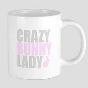 CRAZY BUNNY LADY Mugs
