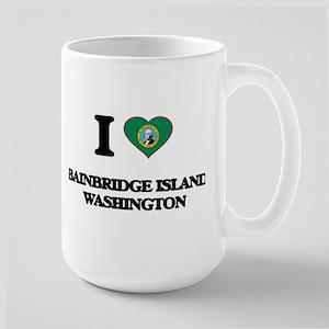I love Bainbridge Island Washington Mugs