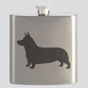 Pembroke Welsh Corgi Flask