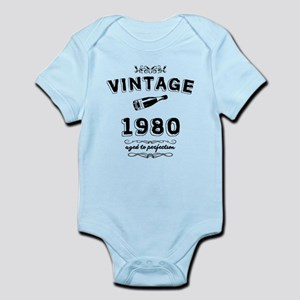 vintage 1980 aged to perfection Body Suit