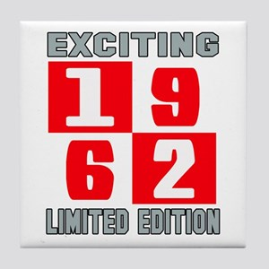 Exciting 1962 Limited Edition Tile Coaster