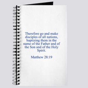 Therefore go and make disciples of all nations bap