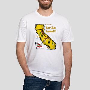CA-La-La Land! Fitted T-Shirt