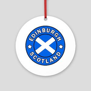 Edinburgh Round Ornament