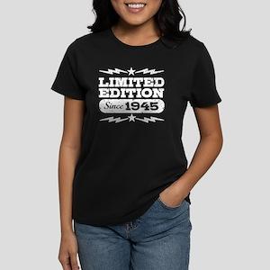 Limited Edition Since 1945 Women's Dark T-Shirt