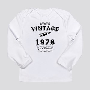 vintage 1978 aged to perfectio Long Sleeve T-Shirt