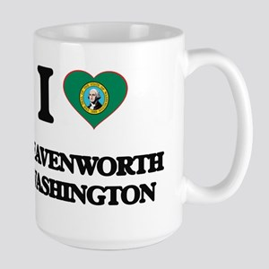 I love Leavenworth Washington Mugs