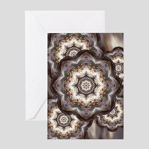 Jewel Accent Mandala Greeting Cards