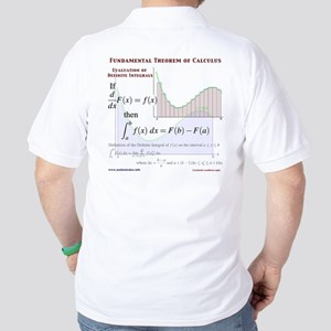 Fundamental Theorem of Calculus Golf Shirt