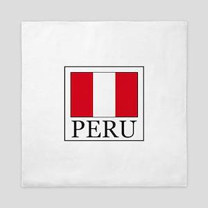 Peru Queen Duvet