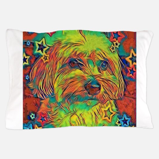 Copper with stars Pillow Case