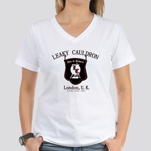 Leaky Cauldron Women's V-Neck T-Shirt