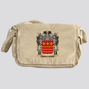 Ahmelmann Coat of Arms - Family Cres Messenger Bag