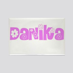 Danika Flower Design Magnets