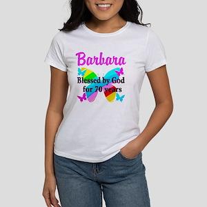 GOD LOVING 70TH Women's T-Shirt