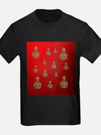 buddha in red T-Shirt