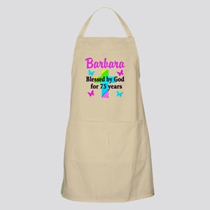 BLESSED 75 YR OLD Apron