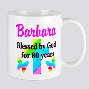 BLESSED 80 YR OLD Mug