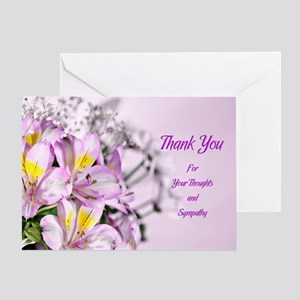 Thank you for your sympathy with alstromeria lilie