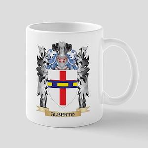 Alberto Coat of Arms - Family Crest Mugs