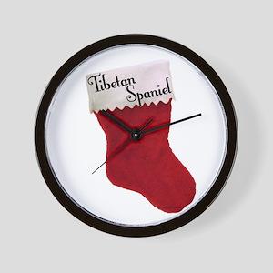 Tibbie Stocking Wall Clock