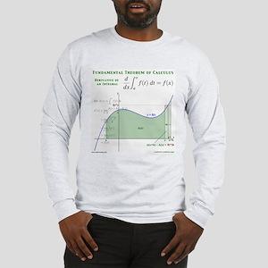 Fundamental Thm of Calculus Long Sleeve T-Shirt