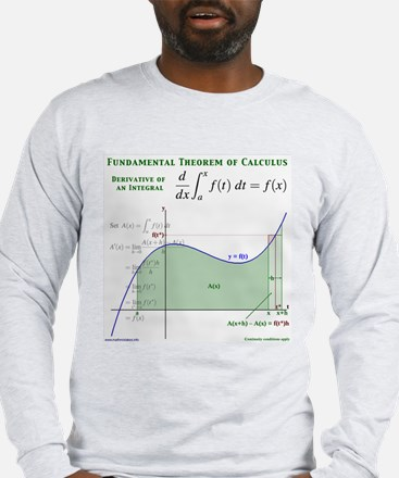 Fundamental Thm of Calculus Long Sleeve T-Shirt