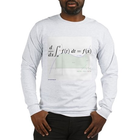 Deriv of an Integral (& graph) Long Sleeve T-Shirt