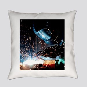 Welding Everyday Pillow