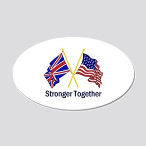 STRONGER TOGETHER Wall Decal