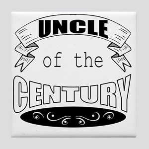 uncle of century Tile Coaster