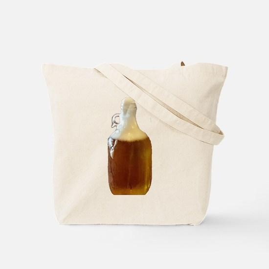 Beer Growler Tote Bag