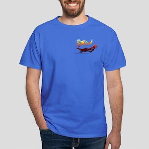 Firey Otters Dark T-Shirt